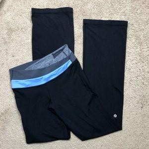 Lululemon Black Astro Yoga Pant Size 4
